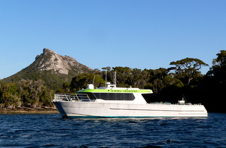 Aurora Charters offer deep sea fishing and scenic charters around Stewart Island